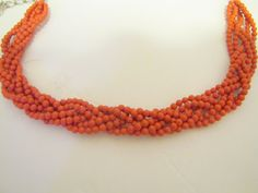 DIY :: Coral Statement Necklace |