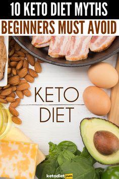 10 Keto Diet Myths Beginners Must Avoid