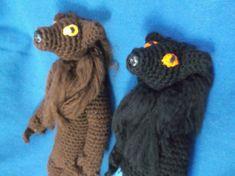 Crochet werewolf werewolf amigurumi choice option of by SalemsShop