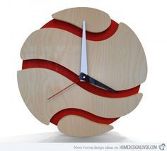 15 Modern Wall Clock Designs Good for Wall Decor | Home Design Lover