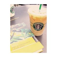 Book & Starbucks ❤ liked on Polyvore featuring food, pictures, drinks, coffee and food and drink