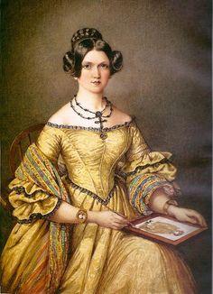 Mary Ellen Best (1809-1891), Self Portrait, 1839