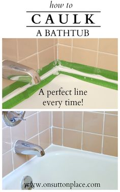 How To Caulk A Bathtub