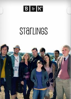 Starlings BBC series. Four generations getting on fabulously under one roof.