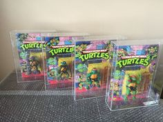 Had to make my son a Halloween costume one year so he could dress up as one of these characters - Teenage Mutant Ninja Turtles 1980s Action Figures: Prices Vary