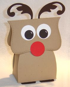 Stampin' Up!  Top Note Reindeer  aerin11  Christmas