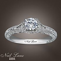 """Every time I look down at my left hand, I get to see this gorgeous thing, and it makes me realize how well my husband knows me. Simple and elegant and beautiful, not too flashy, just enough bling to say, """"hey, y'all!"""""""
