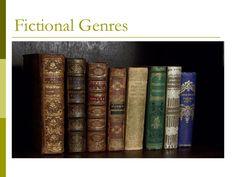 fictional-genres by rhondasingh70 via Slideshare
