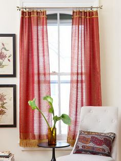 Simple DIY Curtains and Shades for 2013