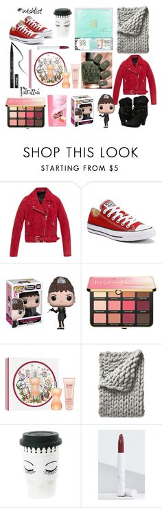 Wishlist2017 by patrizzia on Polyvore featuring moda, Andrew Marc, Converse, Just Peachy, Jean-Paul Gaultier, Serena & Lily, Funko, Miss Étoile, Kat Von D and OPI
