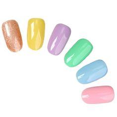 6 pc Creamy UV LED Nail Gel Polish Design Professional Color (Moment) Set