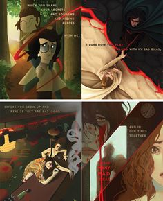 """reyloanthology: """" """"soulmates Original Concept by Lalage 