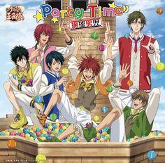 Prince of Tennis: Party Time 09 Prince Of Tennis Anime, Anime Prince, Samurai, Tennis Funny, Tennis Party, Anime Poses, V Taehyung, Kingdom Hearts, My Hero Academia