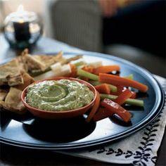Avocado-Yogurt Dip with Cumin by cookinglight. I love me some cumin! :)