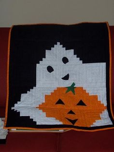 Looking for quilting project inspiration? Check out Boo-ti-ful Halloween by member Patrice G.
