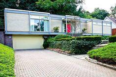 Spectacular 1955 Markson House designed by Architect Jerome Markson in Hamilton Ontario Canada.