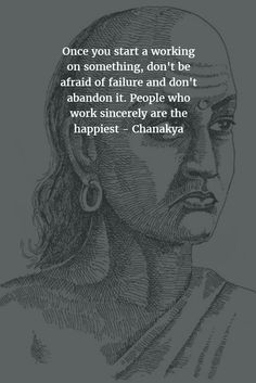 People who work sincerely are the happiest - Chanakya Chankya Quotes Hindi, New Quotes, Wisdom Quotes, Words Quotes, Quotations, Morning Inspirational Quotes, Good Morning Quotes, Motivational Quotes, Spiritual Quotes