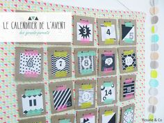 ★ DIY ★ Le calendrier de l'avent pour grands-parents [Free printable] by Rosalie & Co