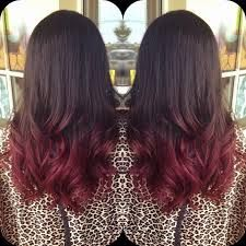 Brown Ombre red - Google Search