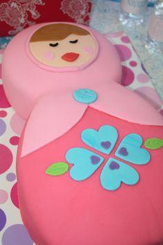 Beautiful Matroshka Cake