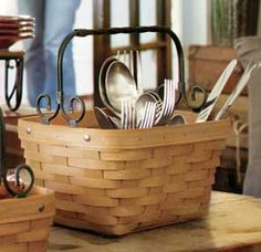Longaberger Artisan Spring™ Basket.  Love this new twist on the spring basket!!  Gotta love a company that  takes pride in making products made in America!!