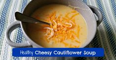 This is an easy, kid-friendly, healthy cauliflower cheese soup recipe that's perfect for a quick lunch or dinner. Pair with some crusty bread for magic. Califlour Recipes, Bread Recipes, Cauliflower Cheese Soups, Lunch, Vegan, Dinner, Fruit, Healthy, Easy