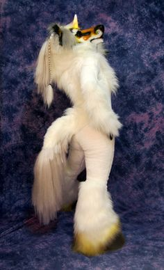 Unicorn Fursuit Full Back by *Beetlecat on deviantART ...I find too much humor in this.