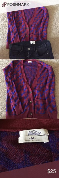 Wallace-Madewell cardigan size M Super Cute cardigan size M Madewell Sweaters Cardigans