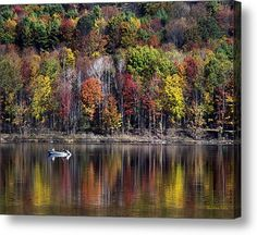 Buy a 20.00 x 16.00 stretched canvas print of Christina Rollo's Vanishing Autumn Reflection Landscape for $119.00.  Only 25 prints remaining.  Offer expires on 10/18/2015.