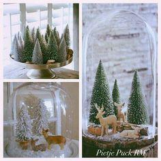 Leuke kerst-winter stol