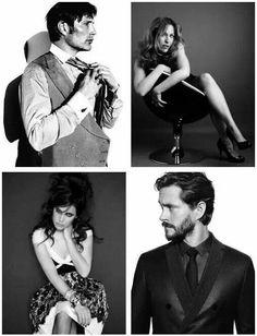 Cast of Hannibal.