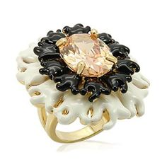 Coral Reef Cocktail Ring from Total Betty Society