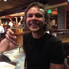Ashton's Instagram: The feelin of that first legal beer in the USA #beerlyf