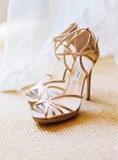 gold jimmy choos