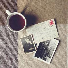 Coffee, Postcard and Photos