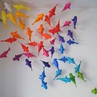 Origami Koi fish.