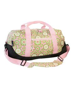 Little ones will love carrying their game gear, overnight clothes or school supplies in a bag that they'll swear was made just for them. Sturdy, comfortable handles (plus an optional shoulder strap) make it comfy to carry no matter what the load. The spacious interior and exterior zipper compartments make for endless stowing options. Ready, pack, go!