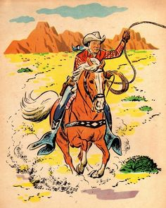 Roy Rogers: King of the Cowboys, 1953 # Western party # Cowboy Photo Vintage, Vintage Images, Vintage Posters, Vintage Art, Vintage Comics, Vintage Stuff, Cowboy Art, Cowboy And Cowgirl, Westerns