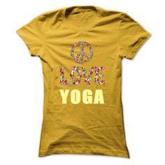 Limited Edition Peace. Love. Yoga. - T-Shirt, Hoodie, Sweatshirt