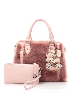 cb991f532a WERLO Brand Luxury Women Bags Handbag Designer Rabbit Fur Bags High Quality  Ladies Shoulder Messenger Bag With Clutch Bags. Esra · Jolly chic