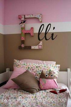 letters, decor...
