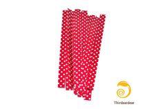 20 Twist ties Dark Pink by ThirdEarDear on Etsy, $1.80
