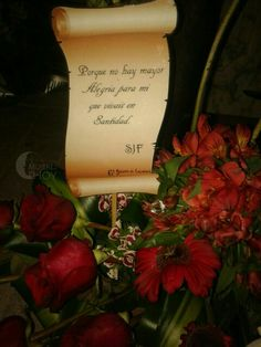 Porqué no hay mayor alegría para mí, que vivais en Santidad.#SJF