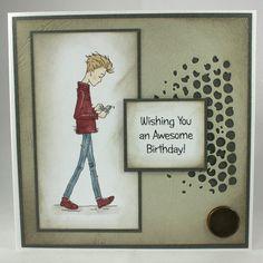 Handmade Birthday Card For Teenage Boy