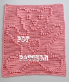 Crochet Pattern Crochet Baby Security Blanket by TheBabyCrow, $3.50