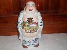 Buddha Porcelain Statue