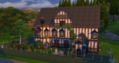 Mod The Sims - Windhamburger. 3 Bedrooms. 2 Bathrooms. NO CC.