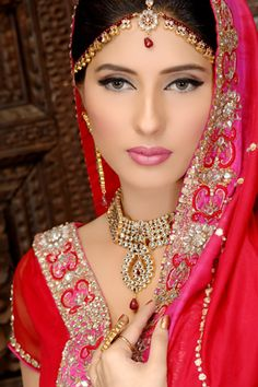 Alle`nora Salon, Gallery of Alle`nora - Alle`nora Beauty Salons , Pakistan Bridal Makeup, Pakistani Hair Stylists