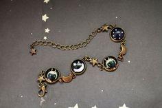 The Captain Cosmos bracelet space cat retro by TheCaptainCosmos