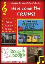 """""""Book & Boogie"""" - Here come the trains! (literacy with music and movement)"""